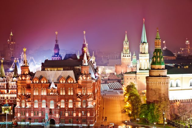 лучшие места России