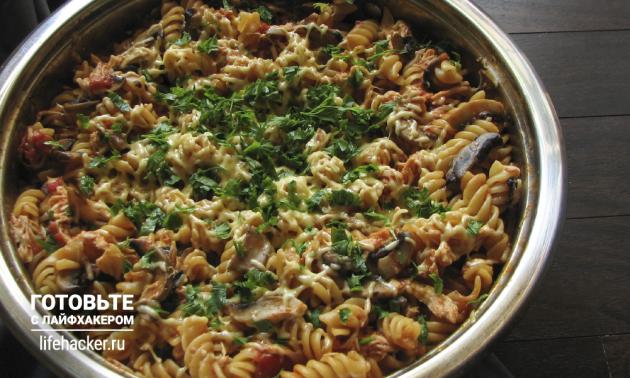 Лучшие рецепты 2015 года: паста в одной посуде