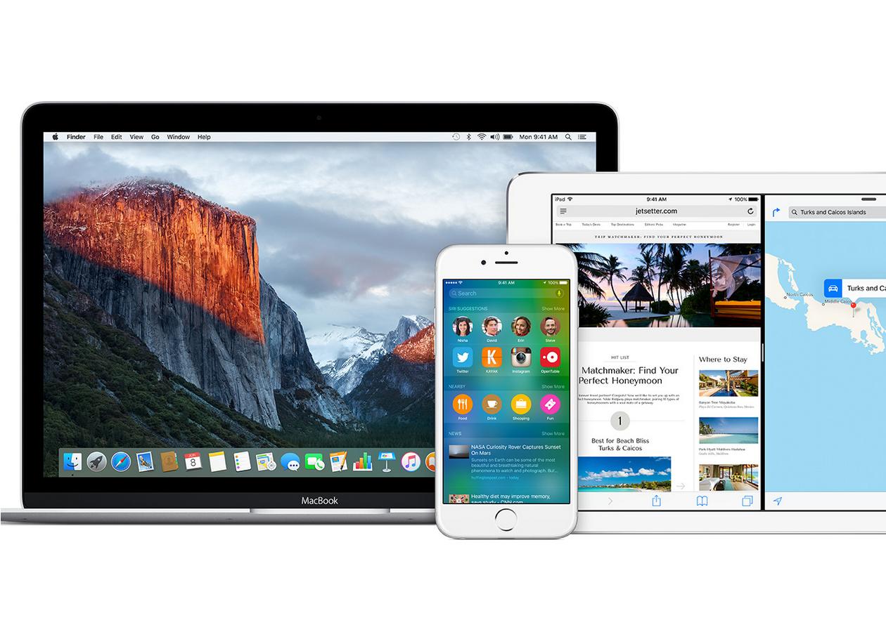 Вышли публичные бета-версии iOS 9 и OS X El Capitan