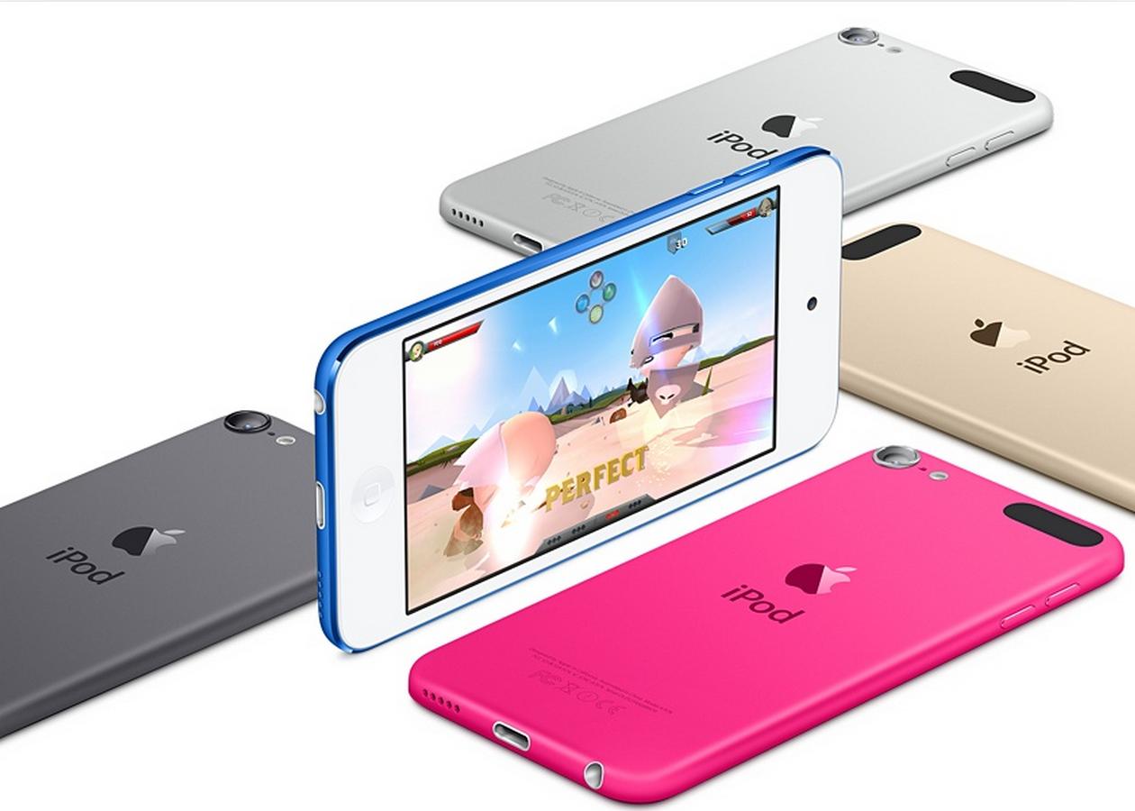 Apple обновила iPod touch, iPod nano и iPod shuffle
