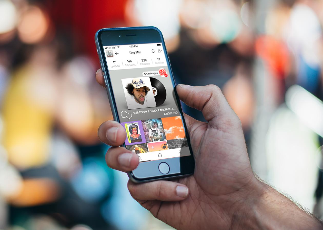 Cymbal — Instagram для музыкальных предпочтений