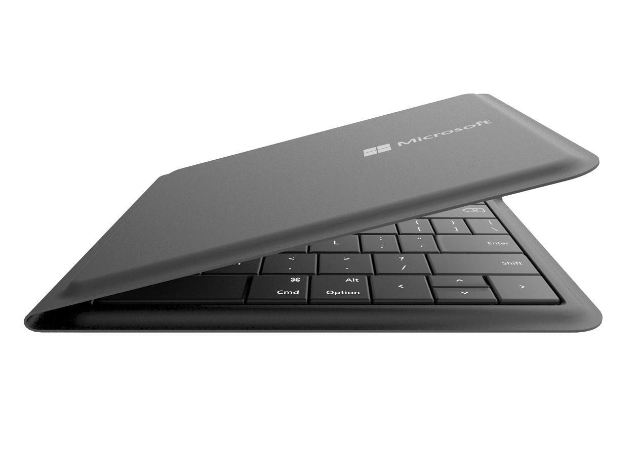 Microsoft представила Foldable Keyboard — складную клавиатуру для iPad и iPhone