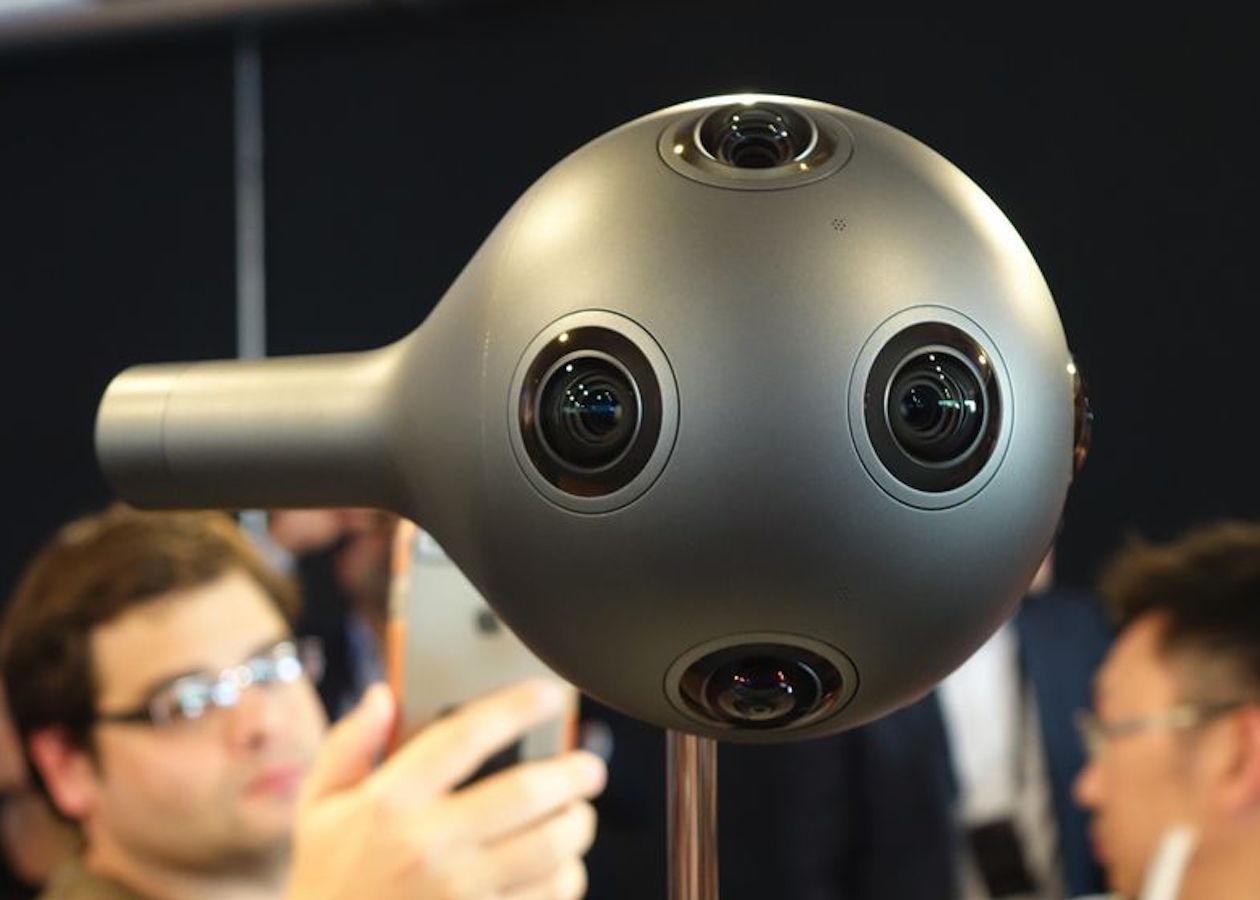 Nokia представила камеру Ozo для съемки видео в формате виртуальной реальности