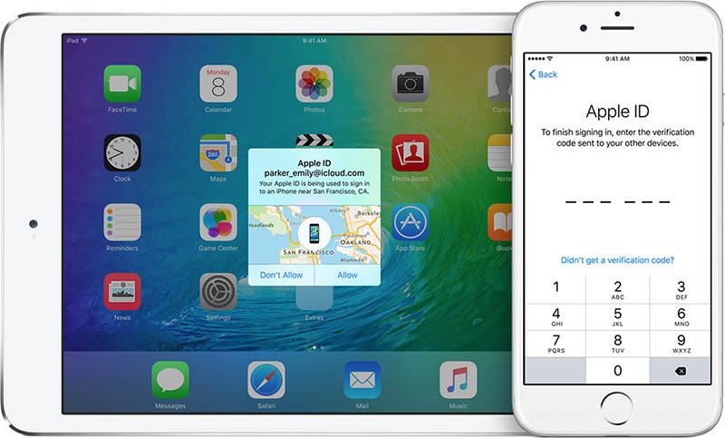 В iOS 9 и OS X El Capitan изменится двухфакторная аутентификация
