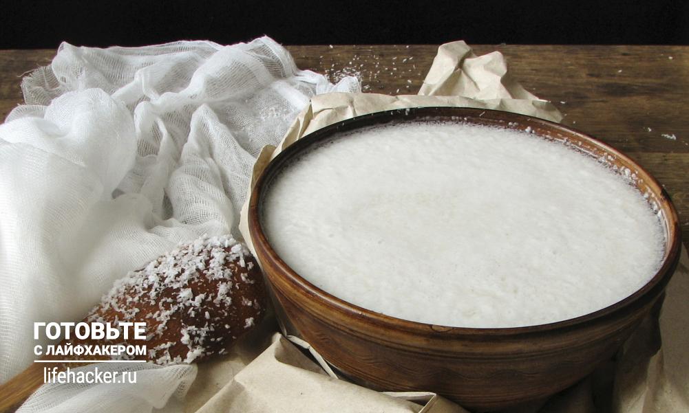 Что приготовить из кокосового молока в домашних условиях