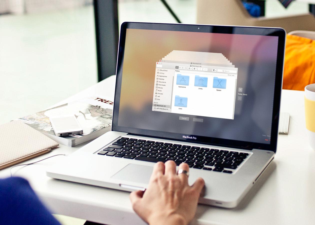 Как с помощью Time Machine восстановить отдельные документы и файлы