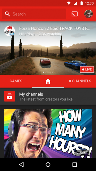 YouTube Gaming android 1