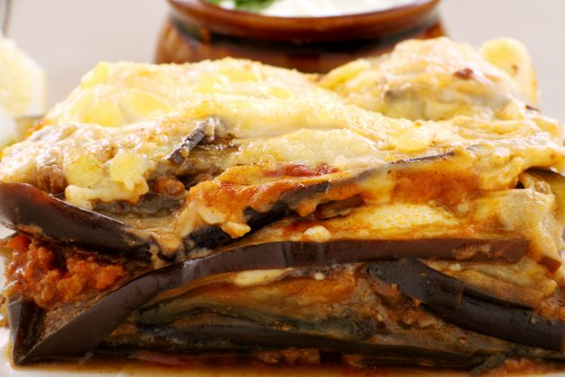 Блюда из баклажанов: мусака
