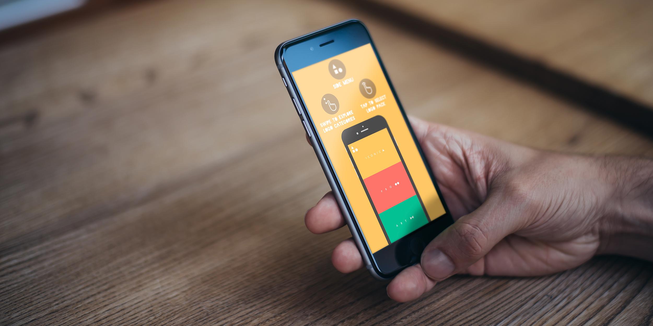 LogoScopic — 800 шаблонов для создания логотипов на вашем iPhone