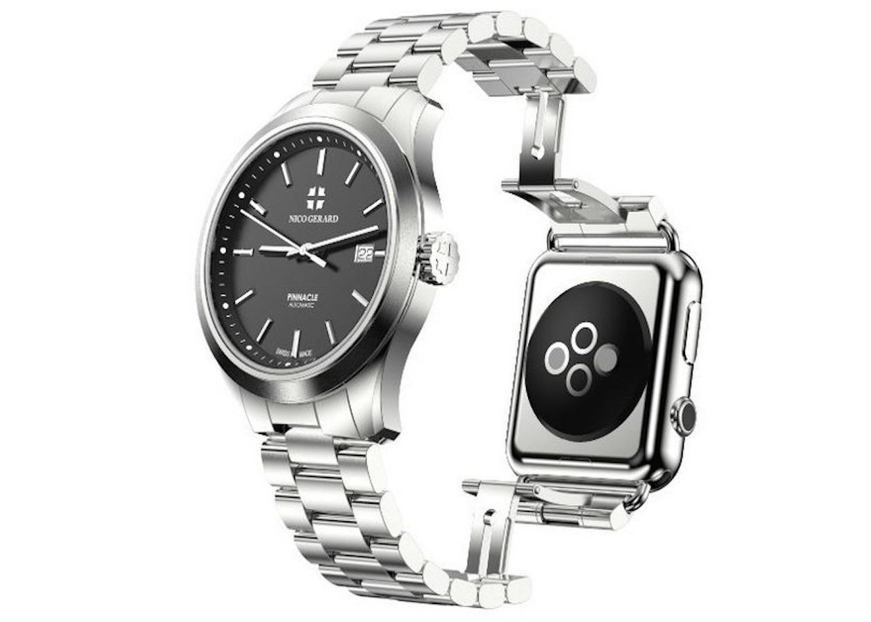 Калифорнийская компания представит ремешок для Apple Watch с классическими часами
