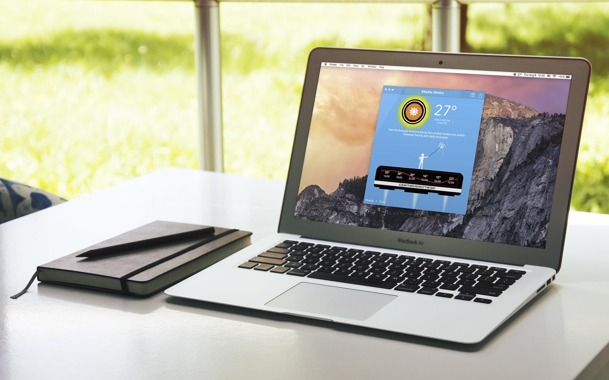 CARROT Weather —прогноз погоды, обзывающий вас «куском мяса», доступен для Mac