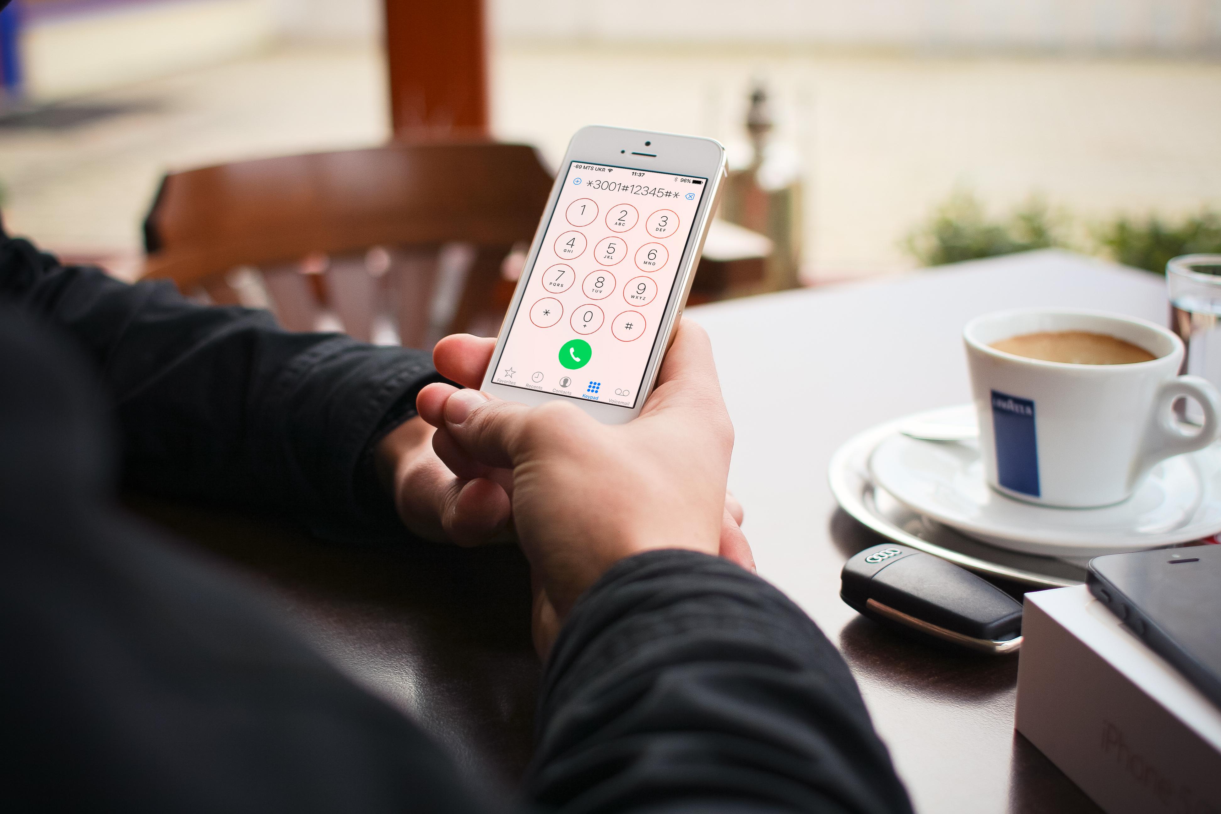 Как включить цифровой индикатор сигнала на iOS