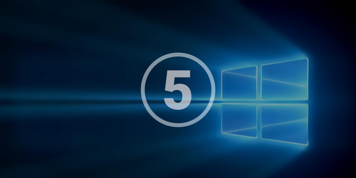 5 полезных функций Windows 10, которые могут вам пригодиться