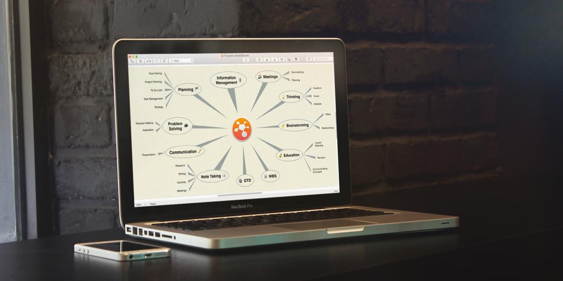 iThoughts — приложение для построения карт мыслей с самым мощным импортом и экспортом