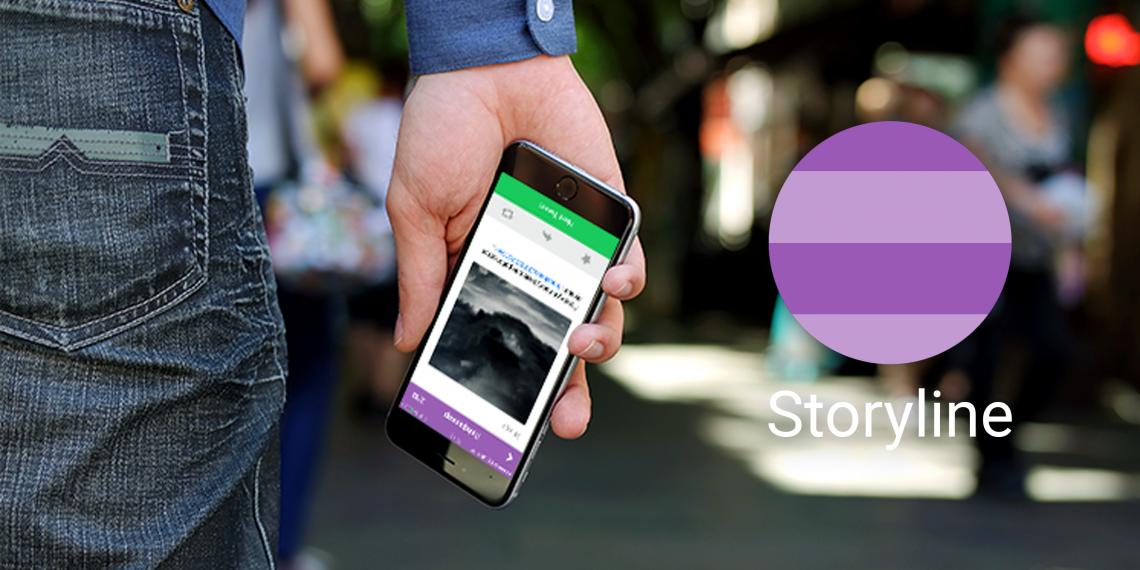 Storyline для iOS — необычный взгляд на ленту Twitter