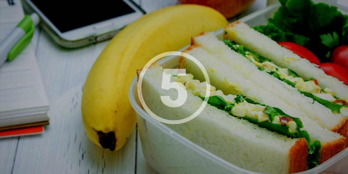 РЕЦЕПТЫ: Обеды, которые можно взять с собой на учёбу