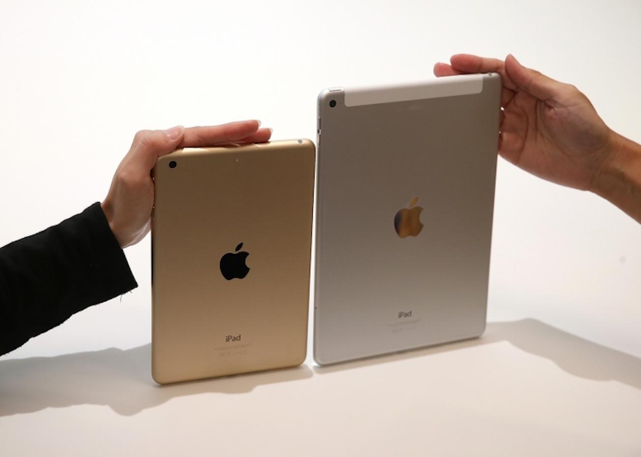 iPad mini 4 станет уменьшенной копией iPad Air 2