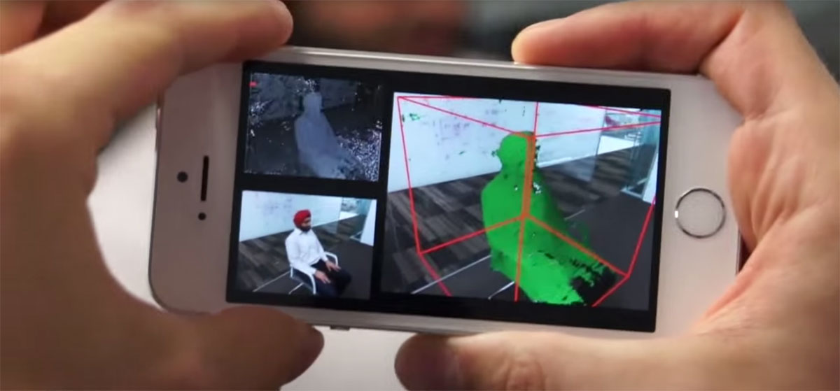 Как Microsoft превращает смартфон в 3D-сканер