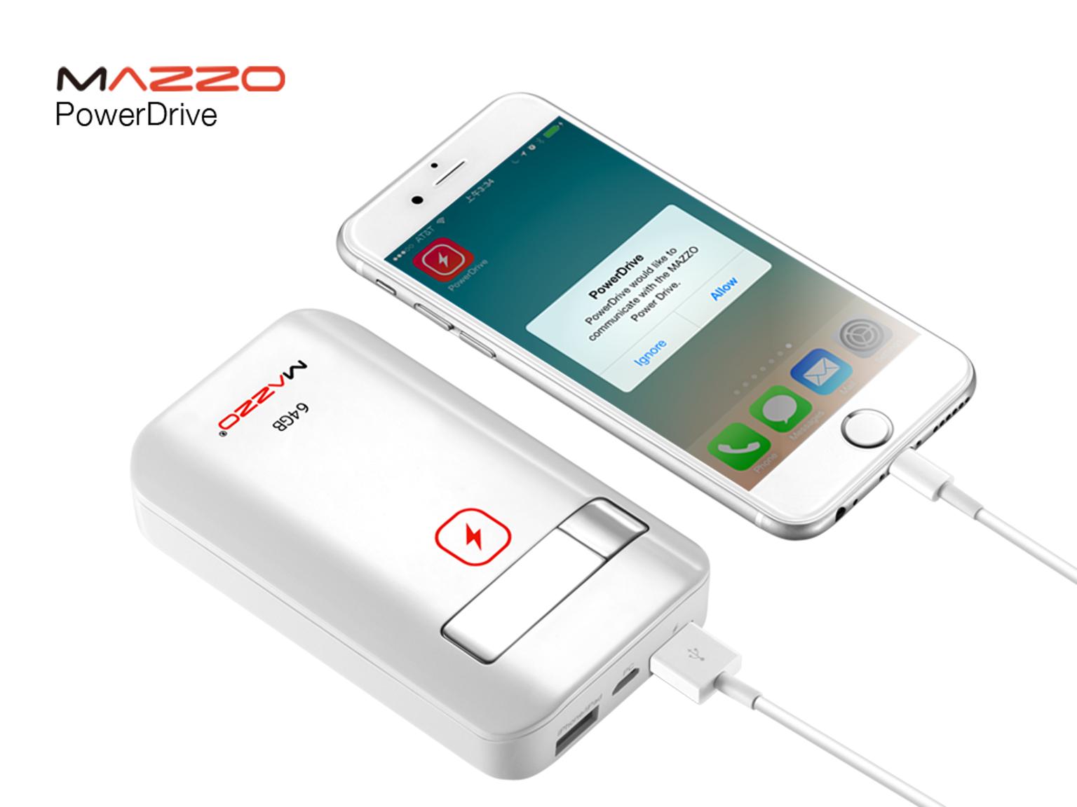Mezzo PowerDrive — жесткий диск и внешний аккумулятор в одном девайсе