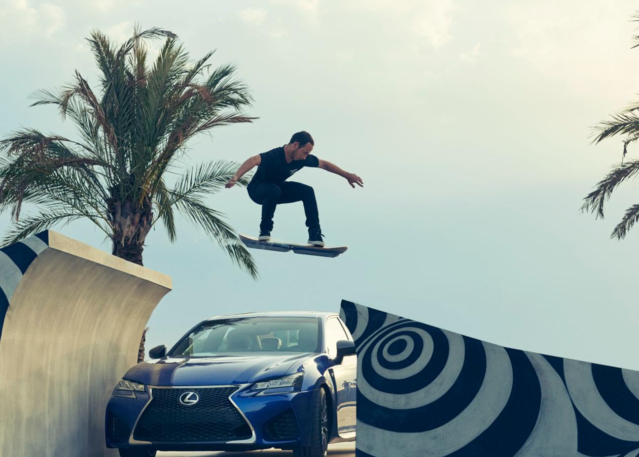 Ховерборд Lexus — на шаг ближе к будущему Марти МакФлая