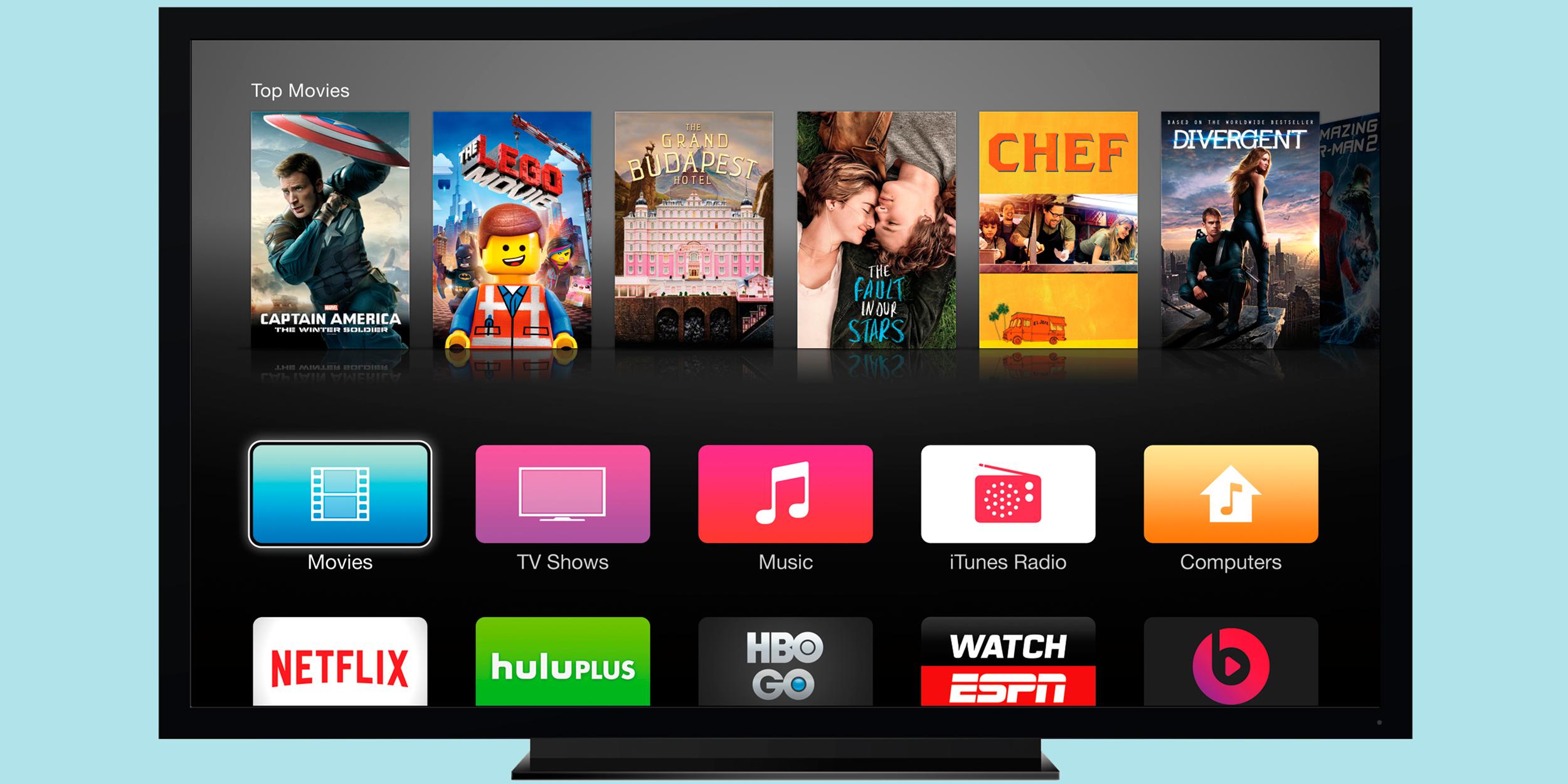 Потоковая трансляция телеканалов не поможет Apple TV превзойти конкурентов. Это сделают приложения