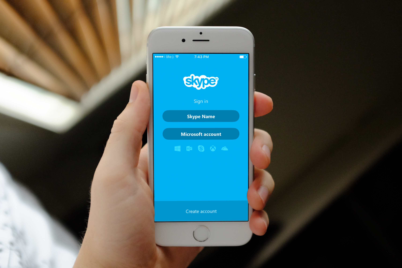 iOS-приложение Skype получило крупное обновление интерфейса