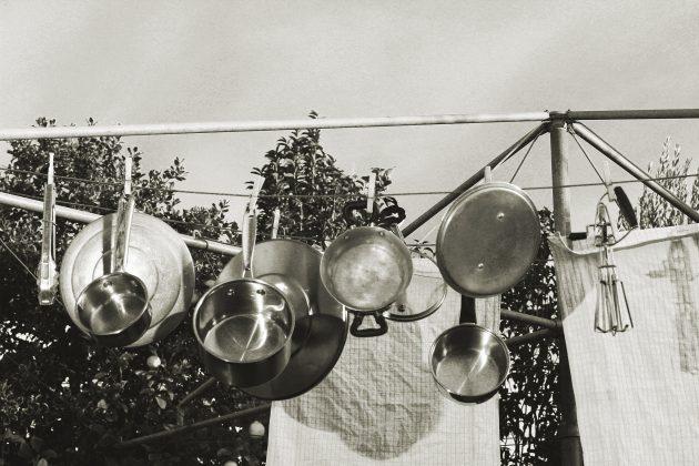 Сода против гари на кастрюлях и сковородках