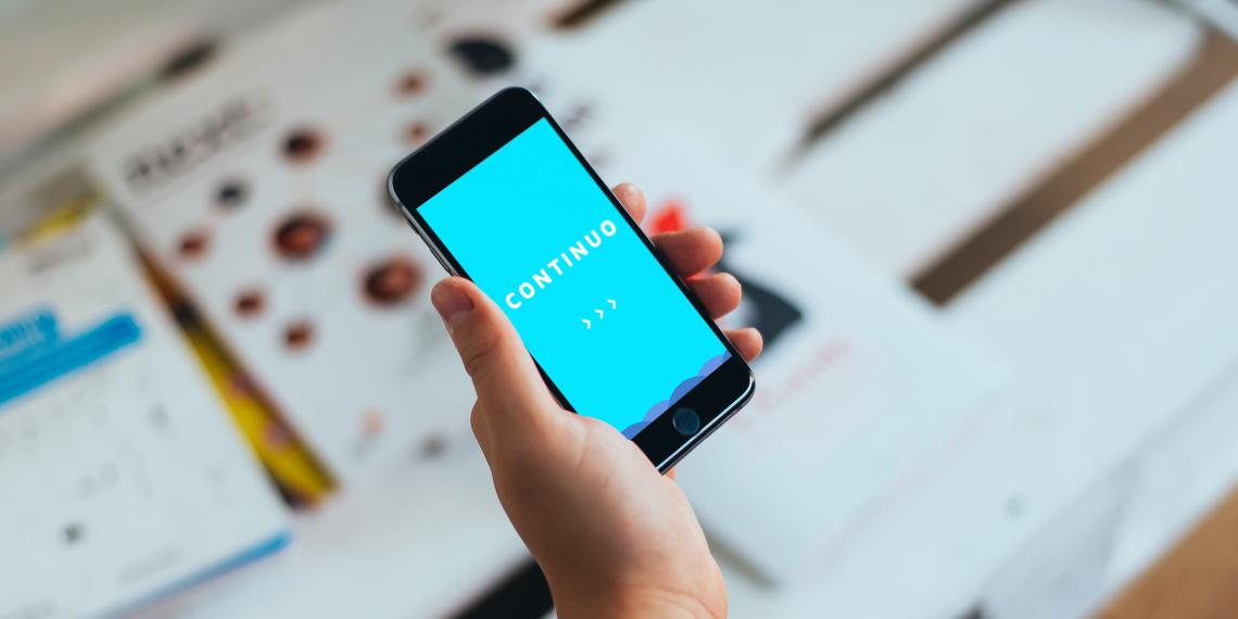 Continuo для iOS — максимально простой и доступный трекер активности
