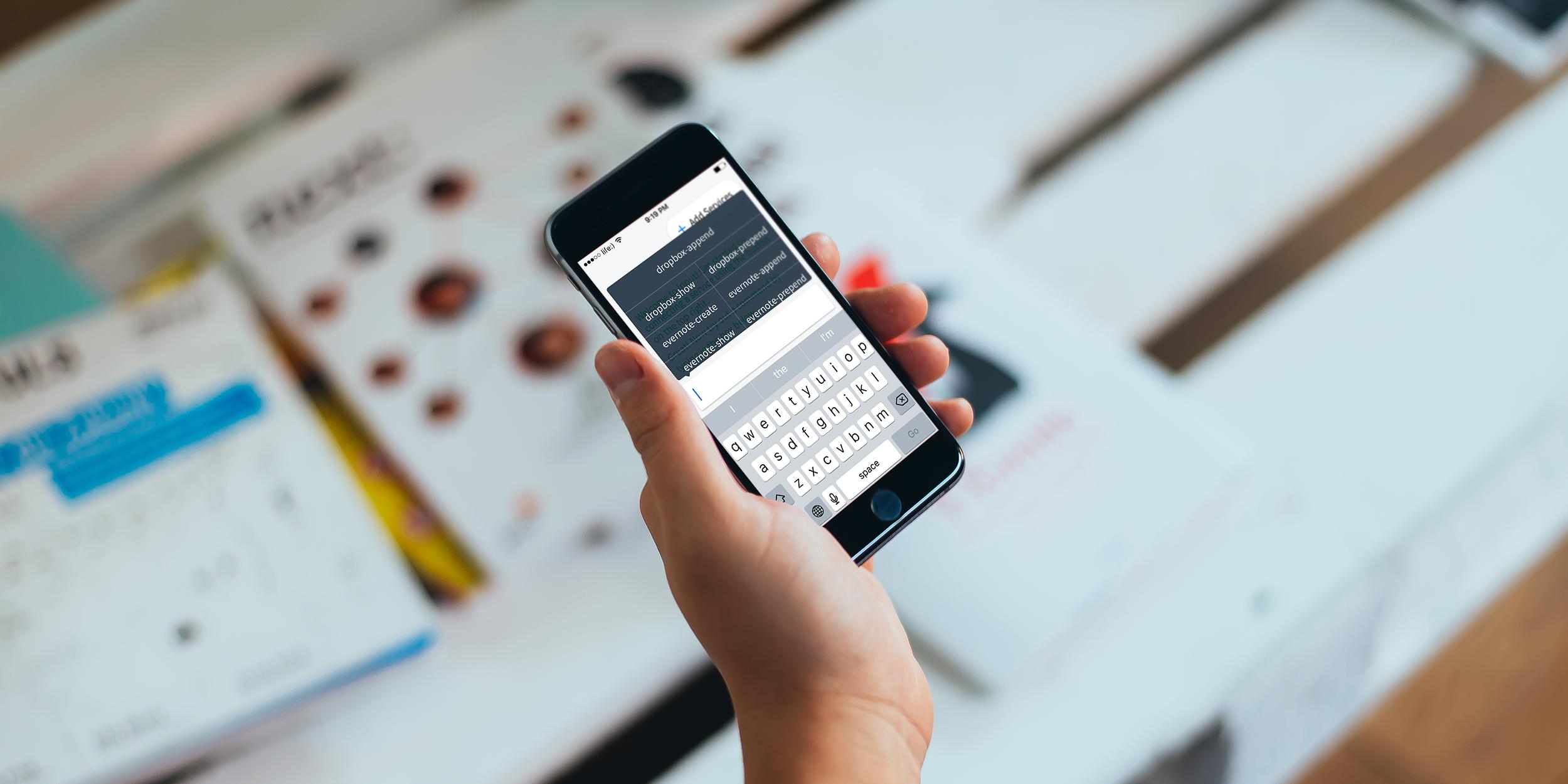 Input — одно iOS-приложение для всех задач продуктивности
