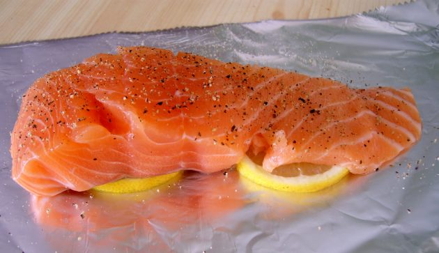 Источники белка: рыба
