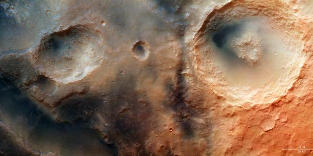 Вода на Марсе есть