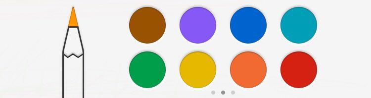 Оттенки основных цветов