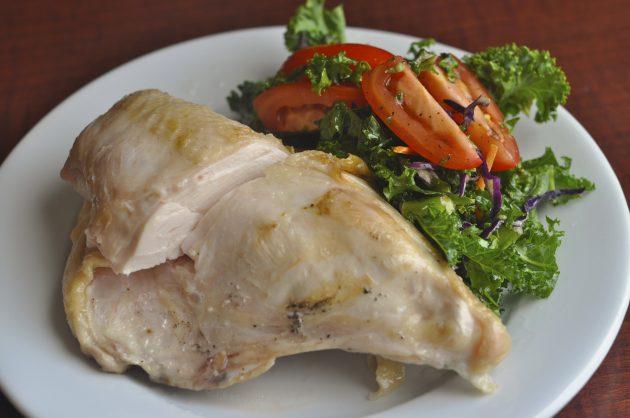 Источники белка: курица