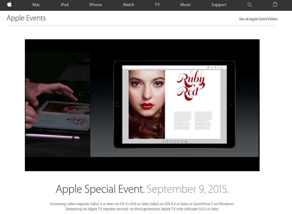 Кристина Литвинова — девушка со вчерашней презентации Apple