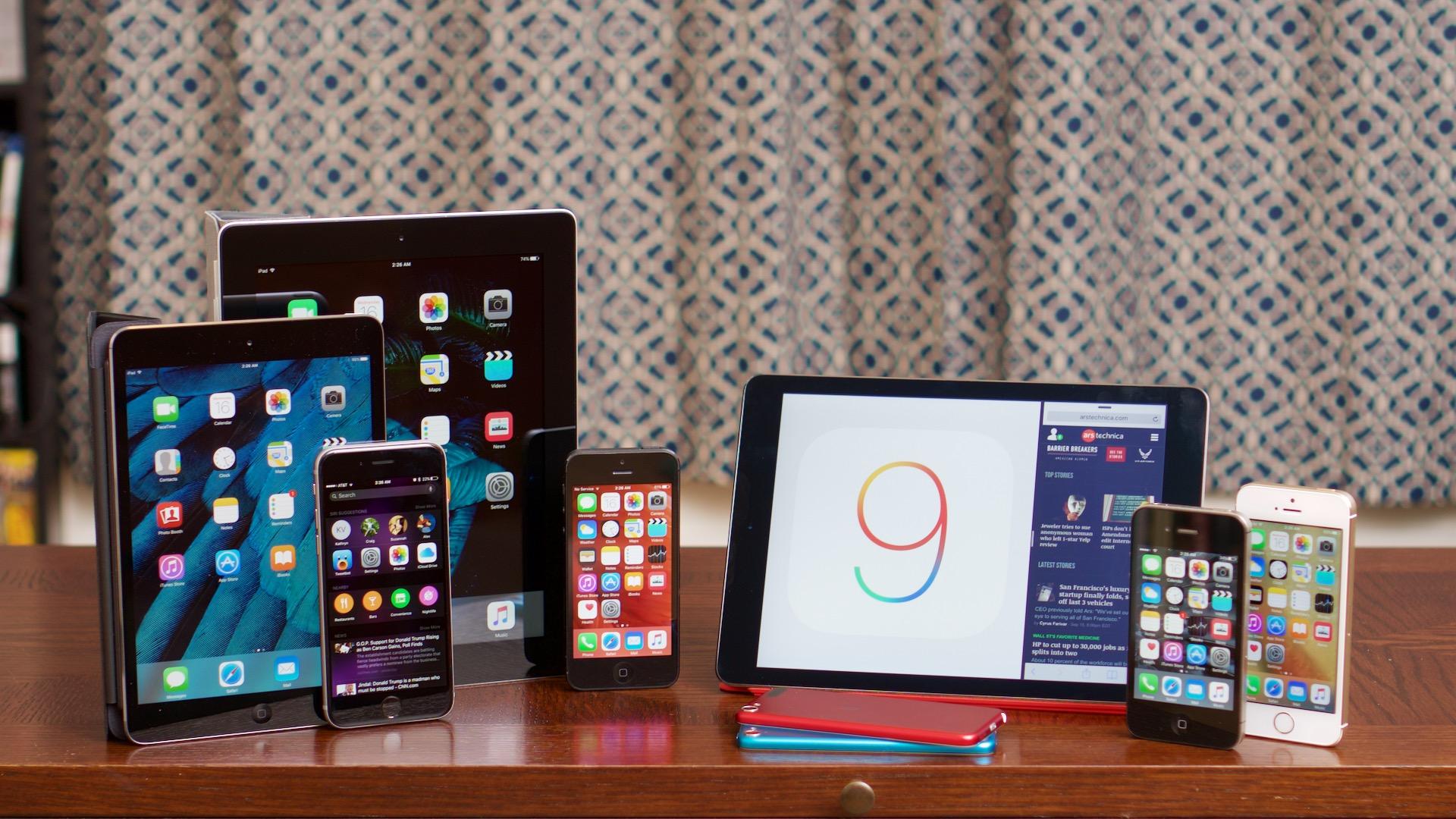 Стали ли быстрее смартфоны и планшеты Apple с установленной iOS 9?
