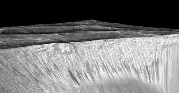 Вода на Марсе существует в жидком виде