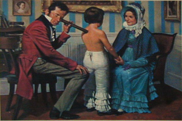 "href=""https://commons.wikimedia.org/wiki/File%3ARene-Theophile-Hyacinthe_Laennec_(1781-1826)_with_stethoscope.jpg"">Wikimedia"