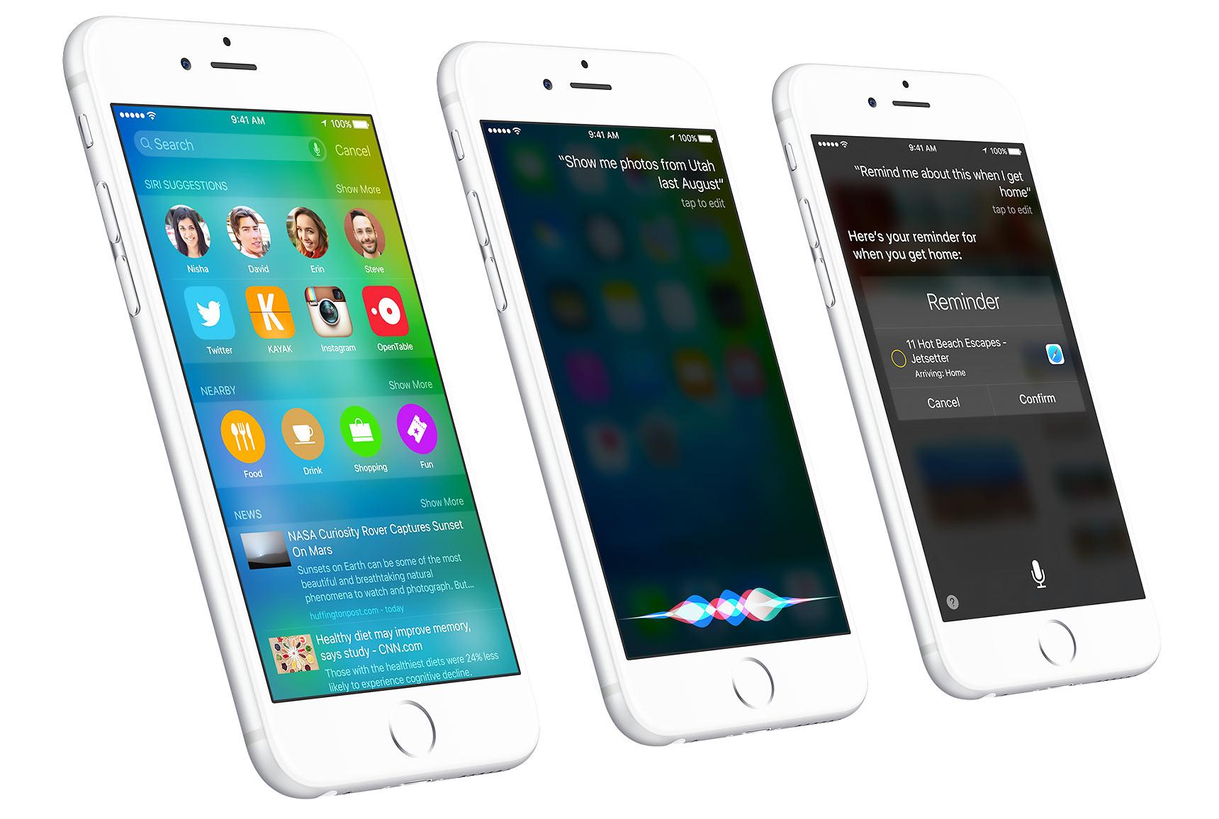 Более 50% активных iOS-устройств уже получили обновление до iOS 9
