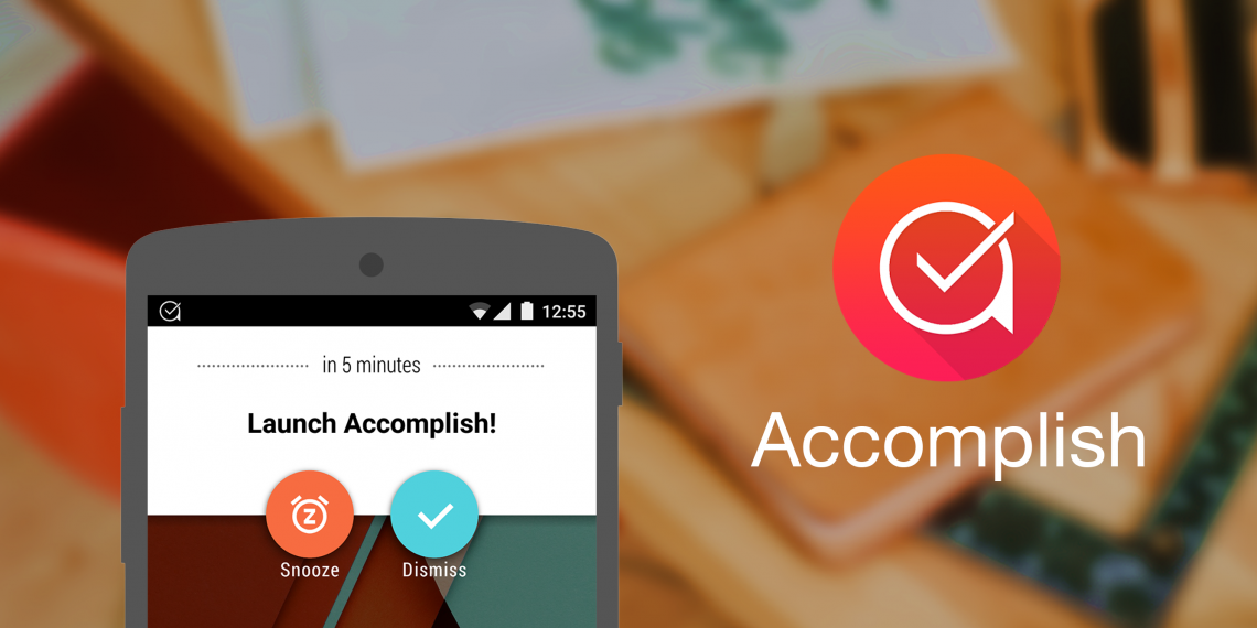 Accomplish — новый фаворит среди менеджеров задач для Android