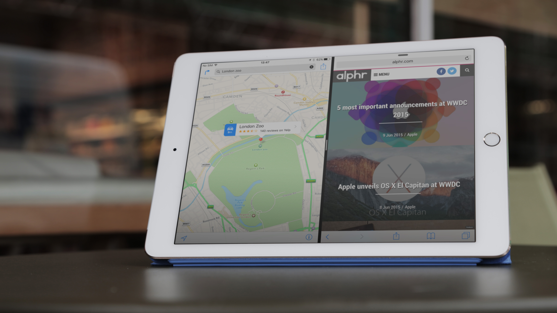 Как работают новые функции многозадачности iOS 9 на iPad