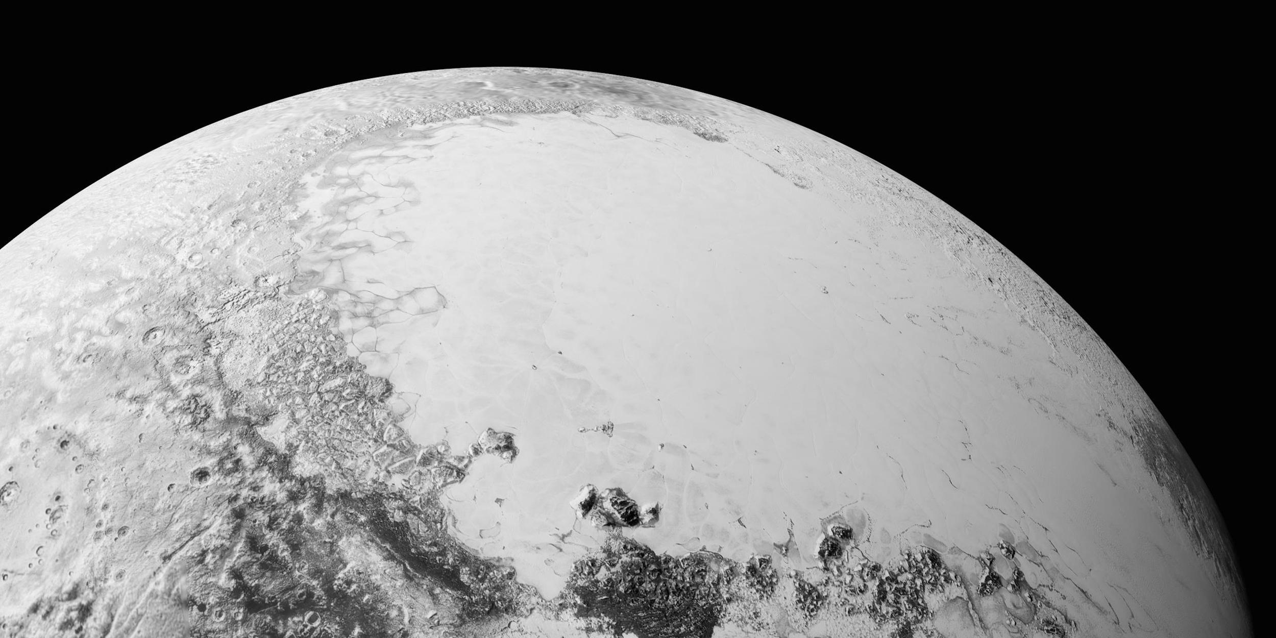 Загадочный Плутон: опубликованы новые снимки планеты