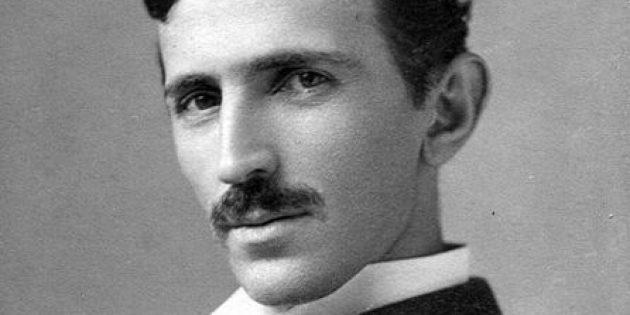 Никола Тесла в молодости