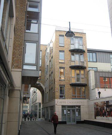 Итальянский квартал в Дублине