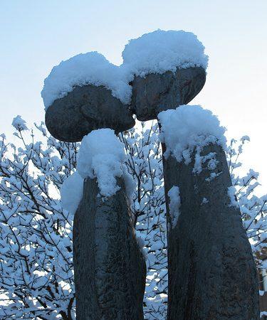Вот так забавно влюбленные выглядят зимой