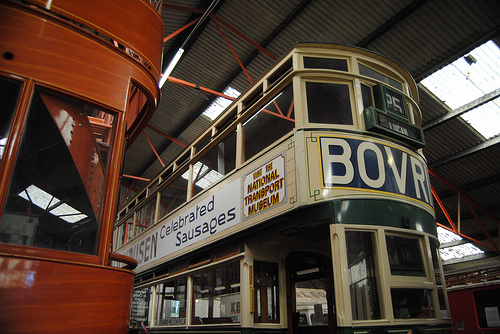 Дублинские двухэтажные автобусы