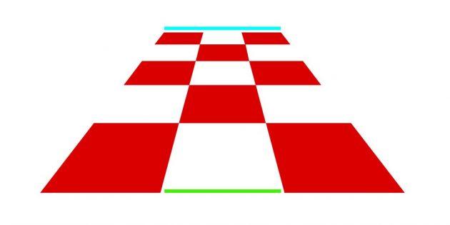 Оптические иллюзии. Шахматная доска