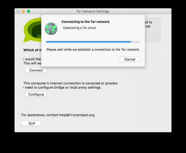 Анонимные чаты: Tor Messenger