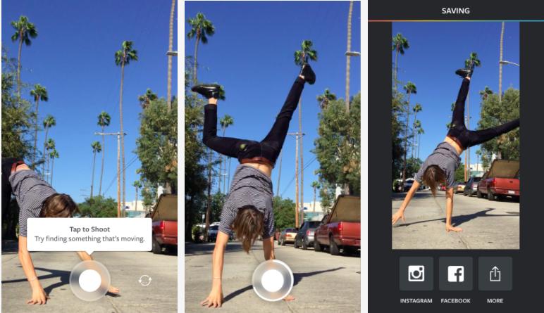 Instagram выпустил приложение Boomerang для создания зацикленных видео