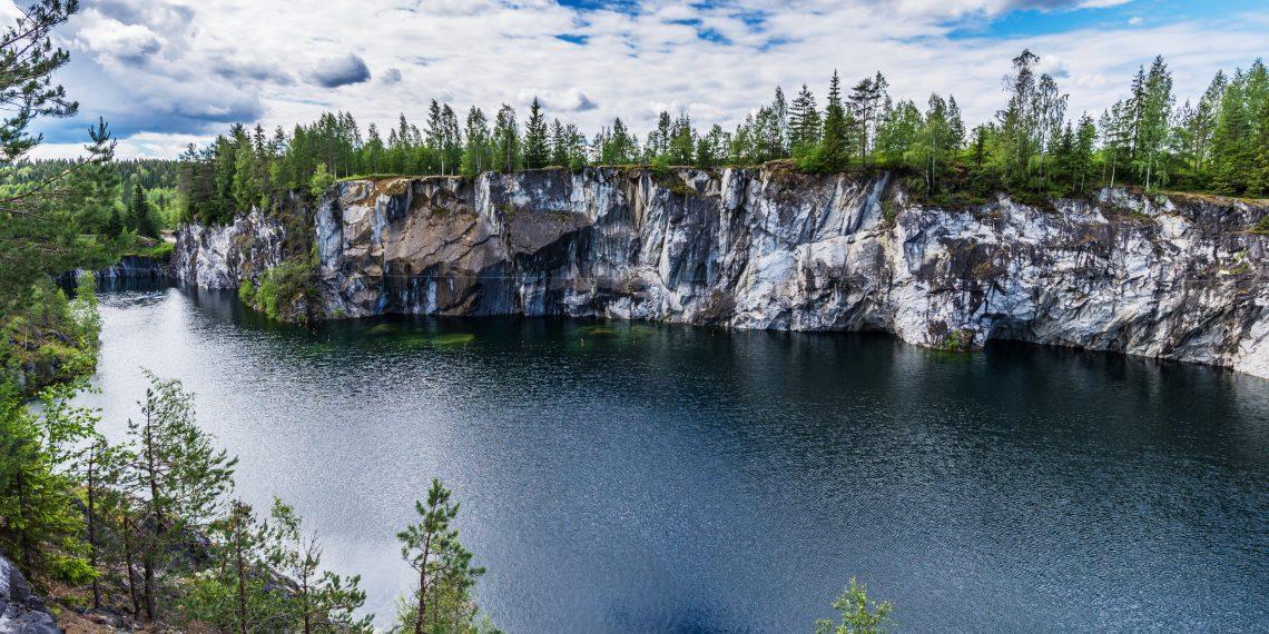 Уникальные места России, о которых вы вряд ли слышали: Рускеала