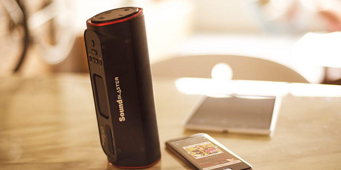 ОБЗОР: Creative Sound Blaster FRee — по-настоящему экстремальная Bluetooth-колонка